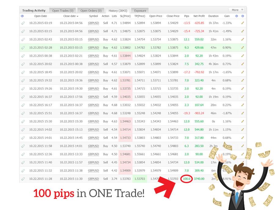 Max Scalper Trading Activity