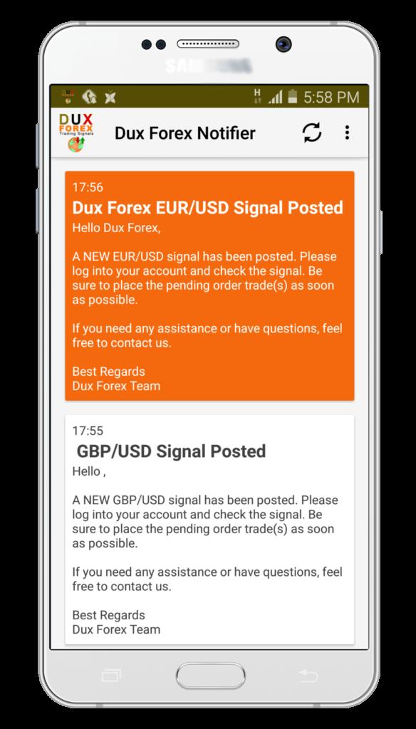 Dux Forex Signals Review 3