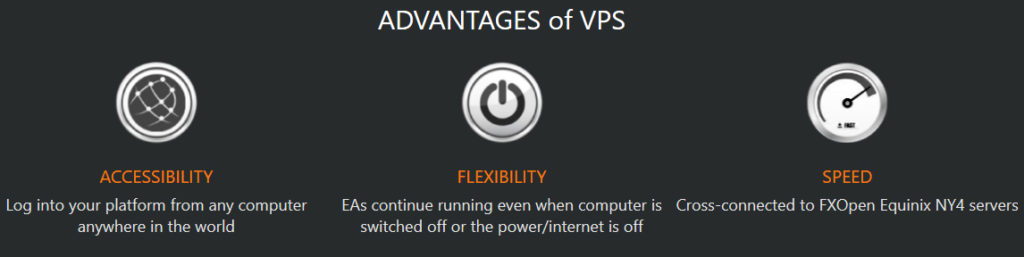 Free Forex VPS Advantages