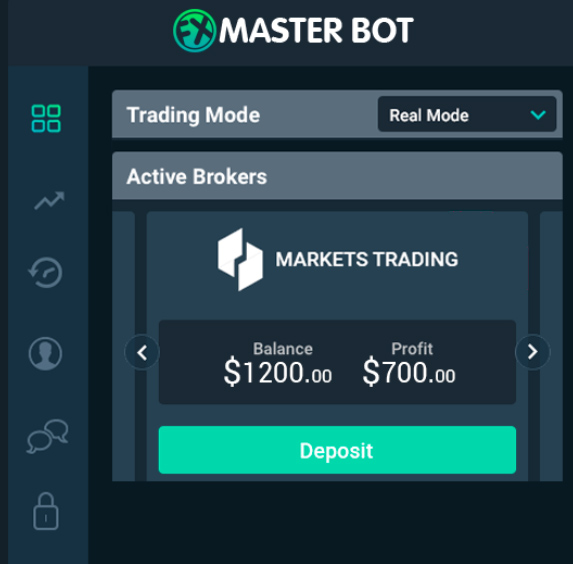 FXMasterBot Review Screenshot
