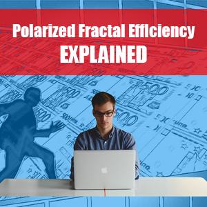 Polarized Fractal Efficiency