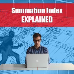 Summation Index
