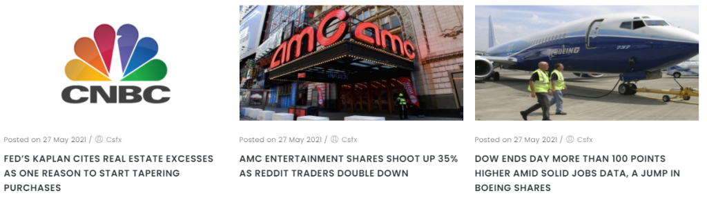 Capital Street FX News