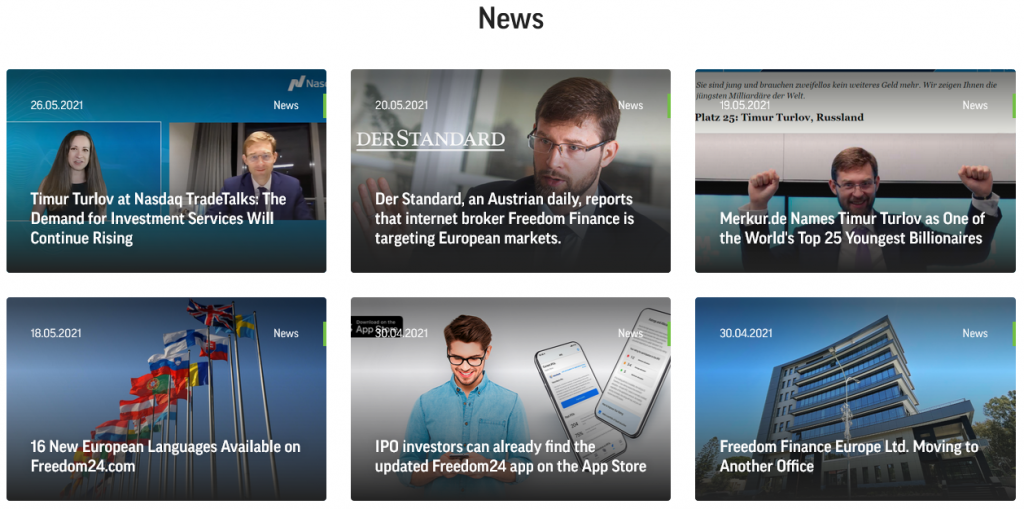 Freedom Finance News