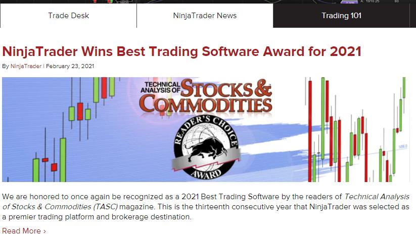 NinjaTrader Review NinjaTrader News