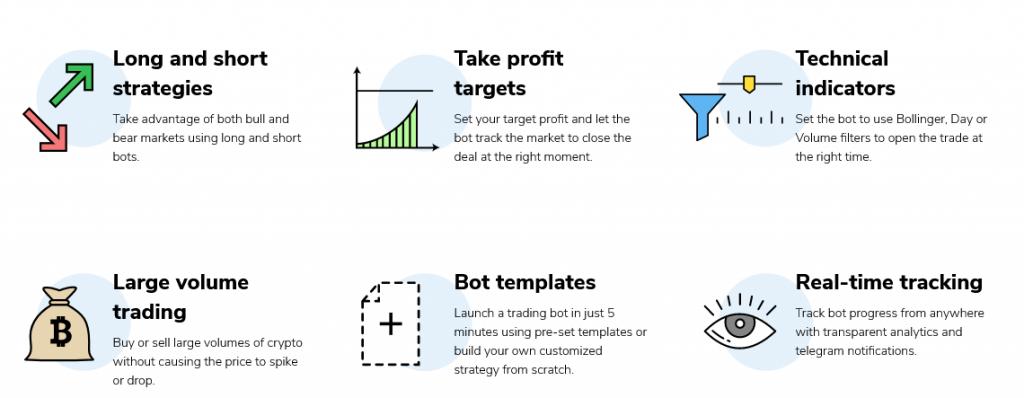 TradeSanta Crypto Bot Features