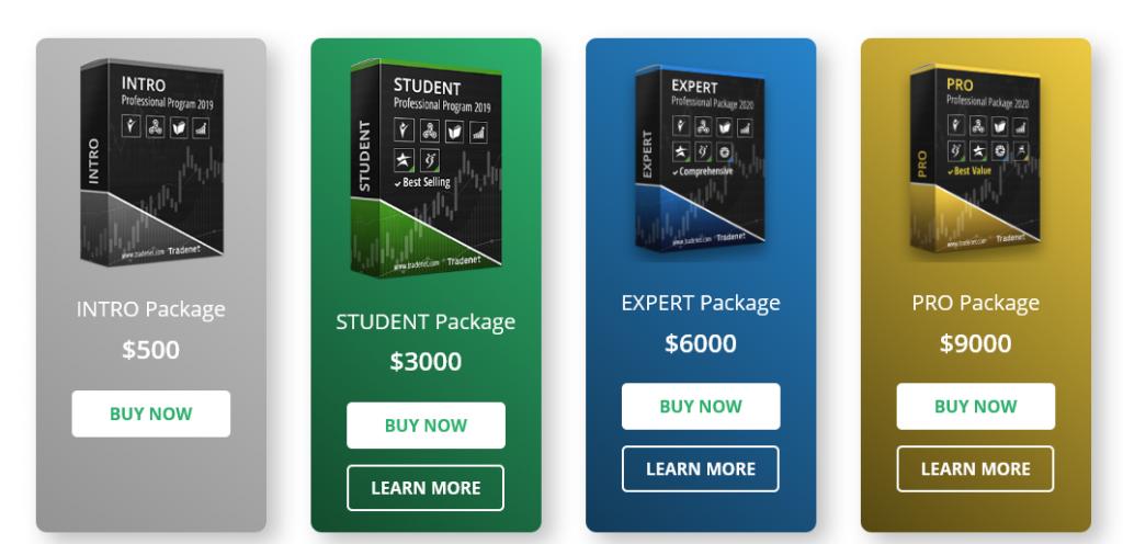 Tradenet Packages