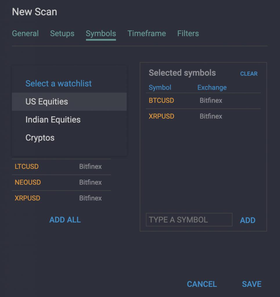 WaveBasis Watchlist