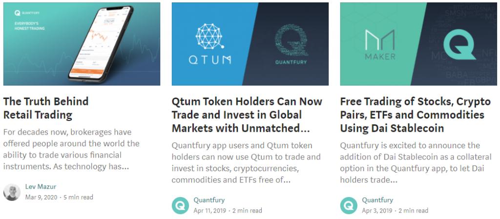 Quantfury Review Blogs