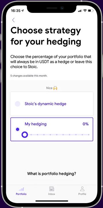 Stoic Trading App