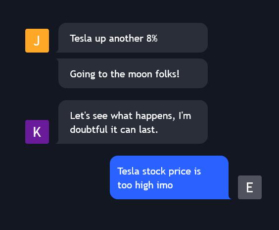 TradingView Chat