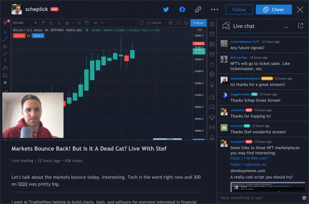TradingView Streaming