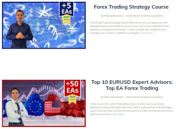 Forex Vox Educational Courses