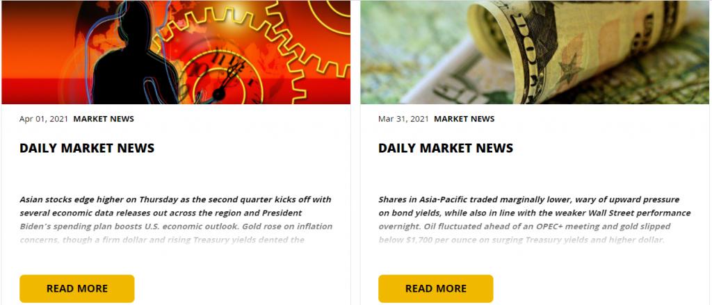 Golden Brokers Market News