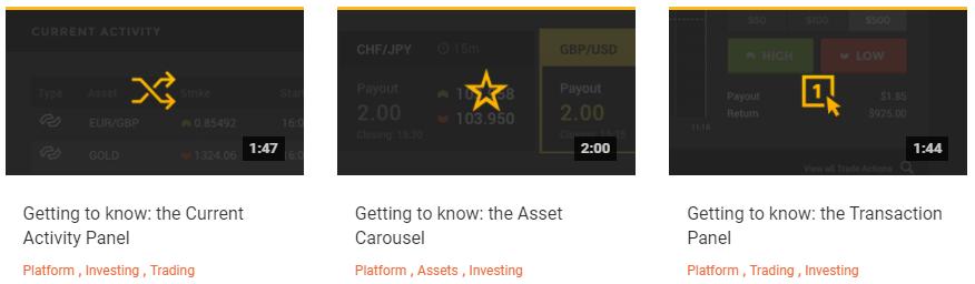 HighLow Markets Training Videos