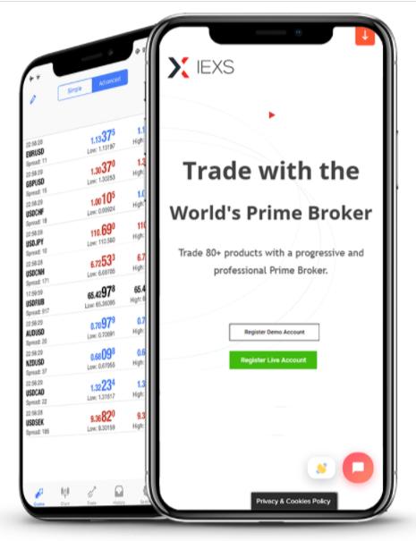 IEXS Trading Platform