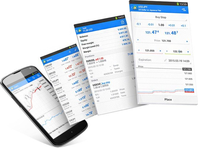 Milton Prime MetaTrader App